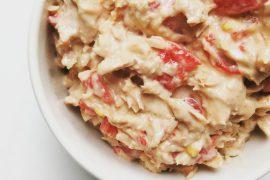 Paleo tonijnsalade met paprika - Beter door Eten