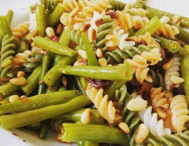 Vegetarsche boontjes pasta - Beter door Eten