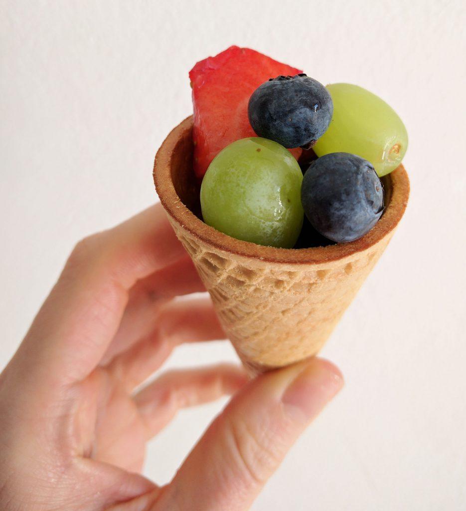 gezonde traktatie: fruit ijsjes - Beter door Eten