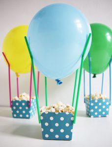 Gezonde traktatie: luchtballonnen met popcorn - Beter door Eten