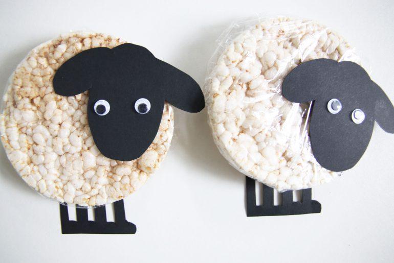 Gezonde traktatie: rijstwafel schapen - Beter door Eten