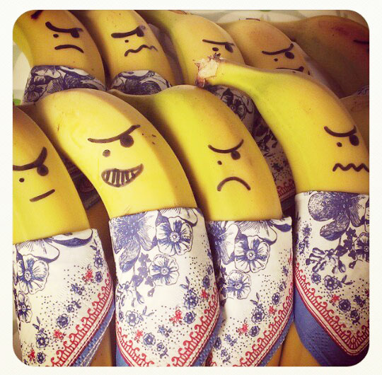 Gezonde traktatie: bananenbandieten - Beter door Eten
