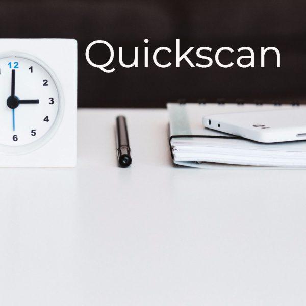Quickscan - Beter door Eten