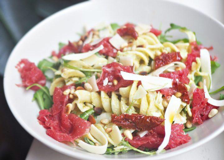 Carpaccio pastasalade van Marit