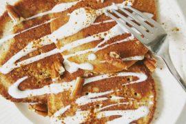 amandelpannenkoeken met wortel - Beter door Eten