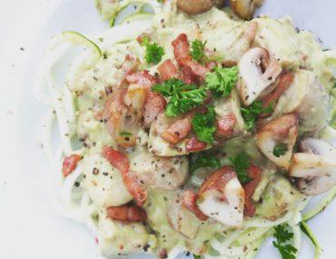 gezonde pasta carbonara - Beter door Eten