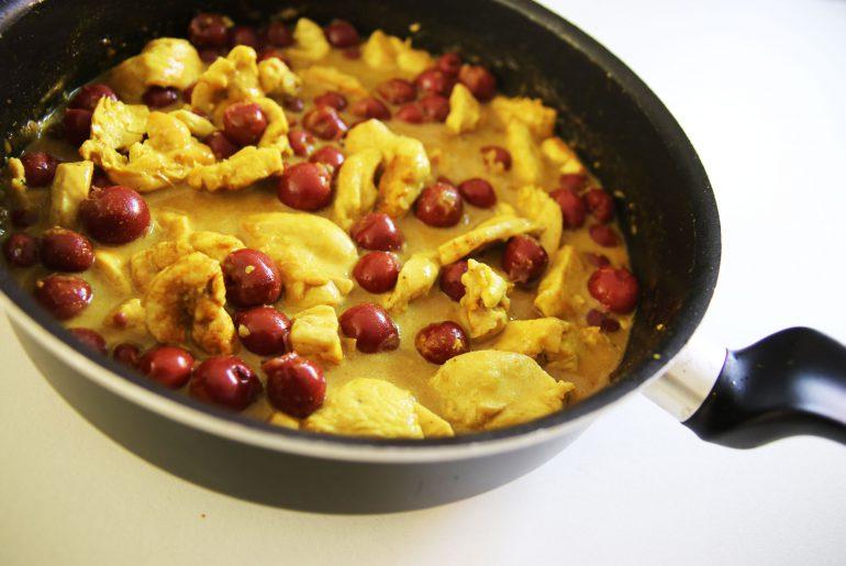 kip potje met kersen gember en kerrie - Beter door Eten