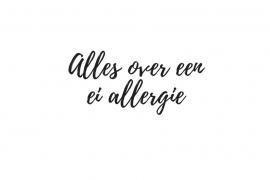 ei allergie - Beter door Eten