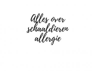 schaaldieren allergie - Beter door Eten