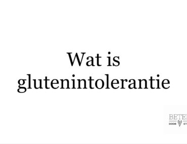 wat is glutenintolerantie