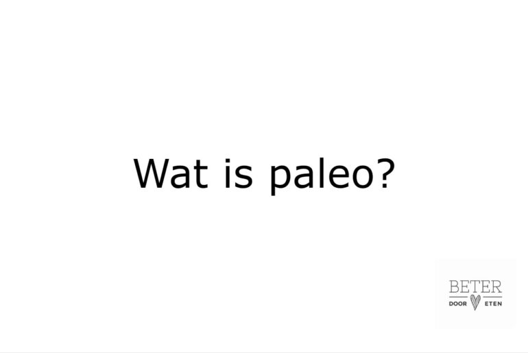 wat is paleo