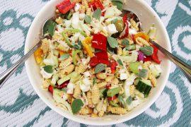 voedzame zomerse maaltijdsalade - Beter door Eten