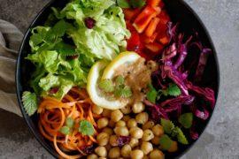 vegan salade recept