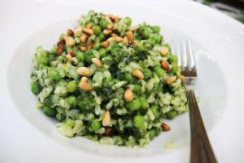Groene-risotto - Beter door Eten