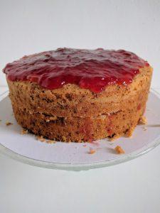 Stap 3: het stapelen van de taart