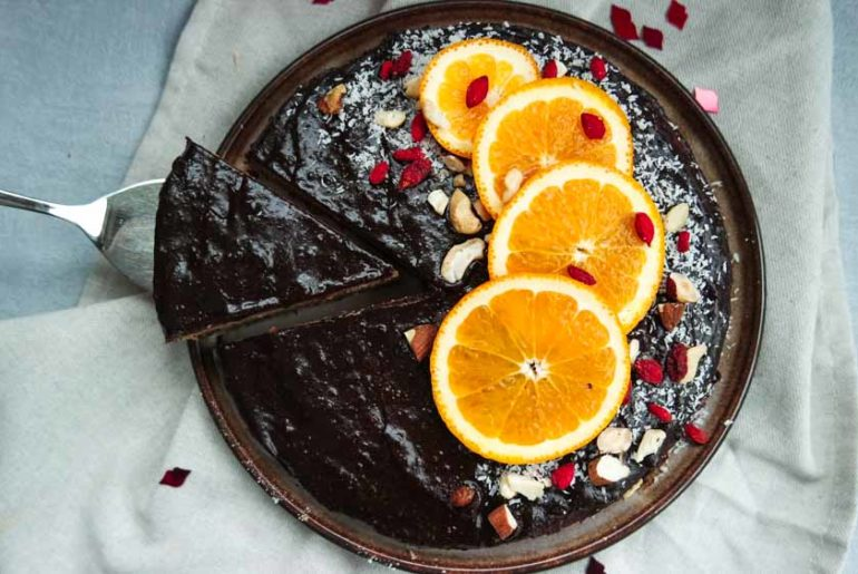 gezonde glühwein taart