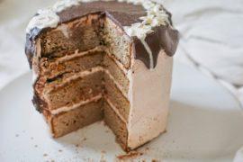 glutenvrije verjaardagstaart